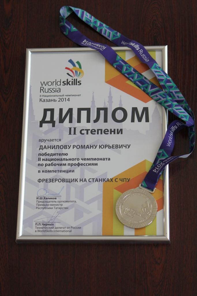 Диплом Данилов сайт